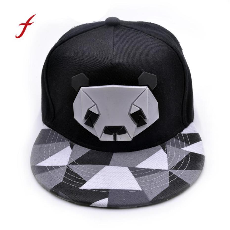 Feitong Womens Sports Baseball Panda Cap Snapback Golf Hat Hip Hop Caps Casquette Sun Hats for Men Women