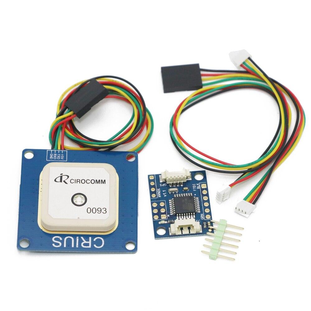 Free shipping+NEO-6 V3.0 GPS NEO-6M Module +NEW Crius I2C-GPS NAV Module Navigation Board free shipping neo 6m ublox u blox gps module for mwc aeroquad flight control board page 1