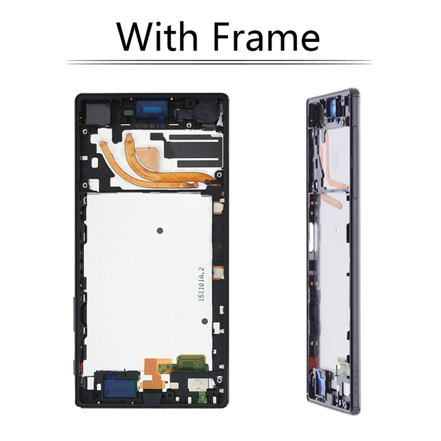 """Sinbeda 5.5"""" Screen For SONY Xperia Z5 Premium LCD Display Touch Screen Digitizer Assembly For Sony Z5 Premium E6883 E6833 LCD"""