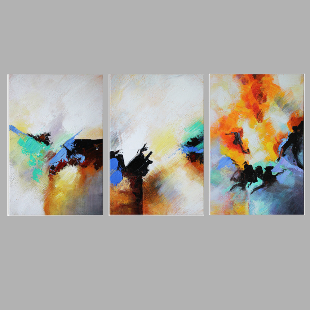 Iarts moderne kunst abstraktes gerahmte ölgemälde handgemalte bild ...