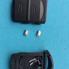 1 шт. новых пустых для OPEL Vauxhall Corsa C Combo Tigra Meriva 2 кнопки дистанционного ключа чехол+ 2 шт микро переключатель без логотипа