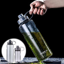 Bpa-free 2L sports travel outdoor equipped water bottle Creative portable large capacity Plastic space kettle with tea infuer