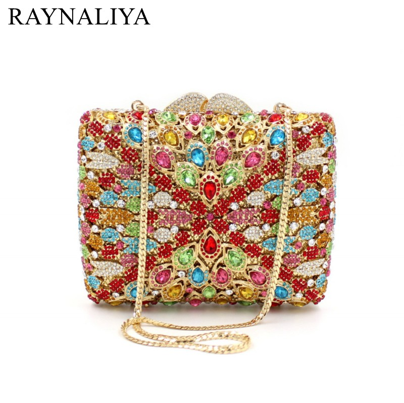 Women Evening Bags Flap Ladies Minaudiere Wedding Party Clutch Bag Crystal Diamonds Purses Gold Day Cluthes Smyzh-f0074 women luxury rhinestone clutch beading evening bags ladies crystal wedding purses party bag diamonds minaudiere smyzh e0193