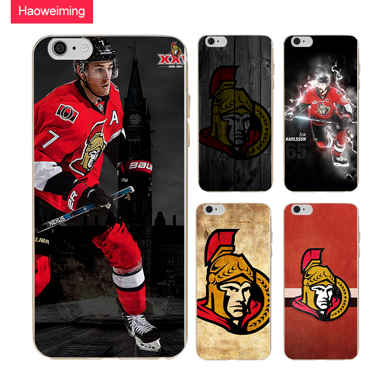 Ottawa Senators Silicone Case For Huawei P8 P9 P10 P20 Plus Y5 Y7 Y9 Honor 6A 9 10 Nova 2 Plus Mate 9 10 Lite H859