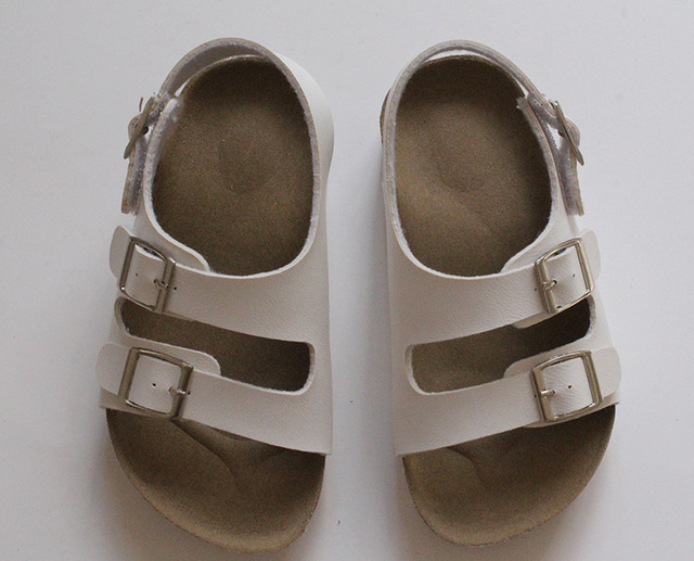 Fashion Germany Children Beach Sandals Boy Girl Cork Sole Kid Sandals For  Boys Casual Shoes Summer 0be56596908a