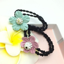 1PCS Cute Sunflower Hair Accessories For Women Headband,Elastic Bands For Hair Clips For Girls,Hair Band Hair Ornaments For Kids