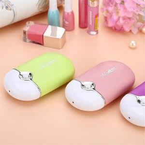 Image 3 - 2020 USB Mini Fan Eyelash Dryer Air Blower Glue Fast Dry False Eye Lash Extension Mascara Dryer Portable Makeup Tools Nail Art