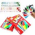 Один Пакет из 108 шт. Карты UNO Карточная Игра Покер Игральные карты покер звезда Настольные игры