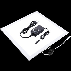 Image 2 - 1200LM LED Studio Photography Shadowless Bottom Light Shadow free Lamp Panel for Photo Shooting Tent Box &No Polar Dimming Light