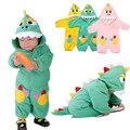Venda de ano novo das crianças dinossauro romper traje trajes dos desenhos animados estilo animais romper do bebê recém-nascido sleepwear