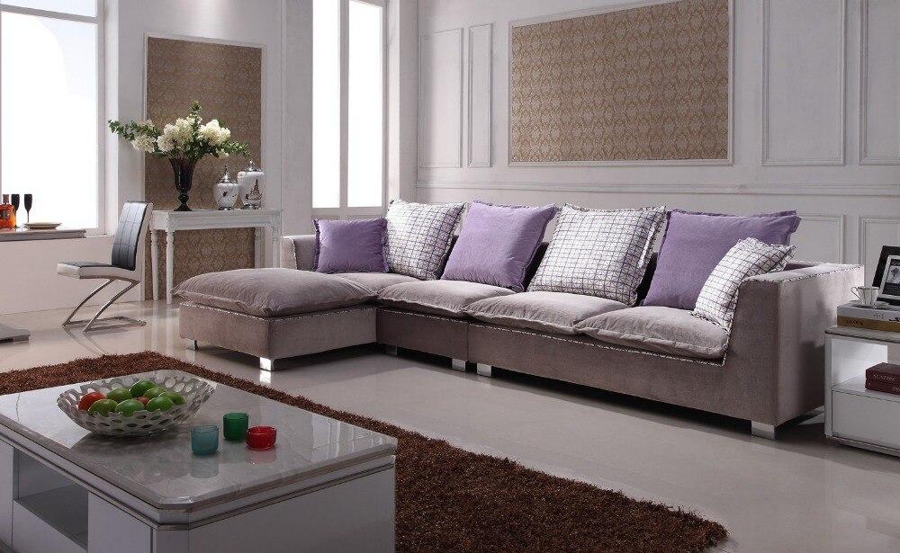 Fabric Sectional Sofa L Shaped Sofa Designs Sofas Para Sala 8612