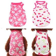 Soft Cotton Cute Pet Clothes
