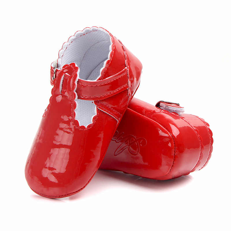 New Style Princess Girls baby shoes PU Leather Infant shoes First walkers Toddlers Crib Brand kids Child shoes