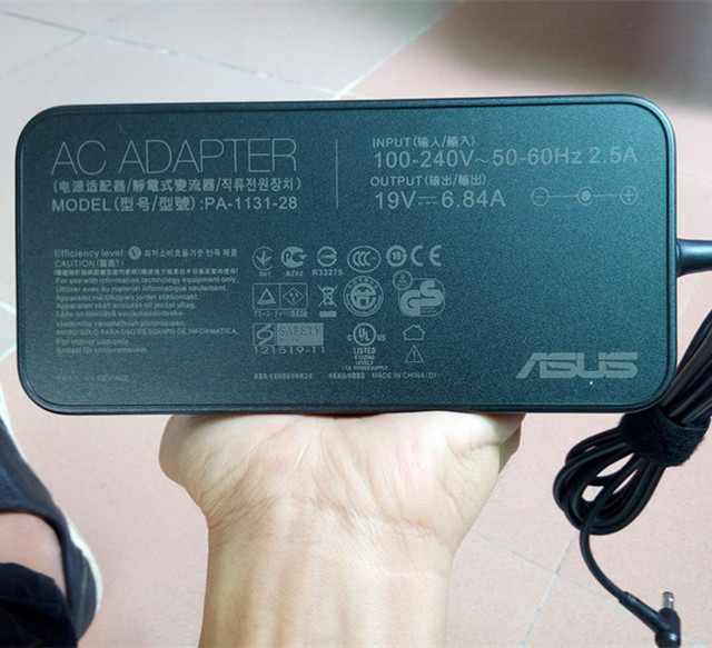 Original Laptop Adapter For Asus 19V 6.32A 120W 5.5*2.5 PA-1121-28 For Asus N750 N500 G50 N53S N55 all-in-one AC Power Charger