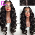 Brazilian 150 Density Human Hair Full Lace Wigs For Black Women Body Wave Glueless Lace Front Wigs With Baby Hair Bleached Knots