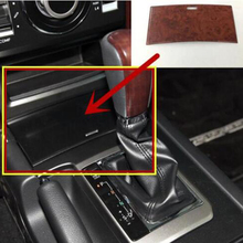 For Toyota Land Cruiser Prado FJ150 2010-2017 ABS Plastic Inner Gear Shift Storage Box panel Frame Cover Trim Accessories 1pcs for toyota land cruiser prado fj150 150 2010 to 2018 front door shook hands cover interior gear shift head trims car accessories