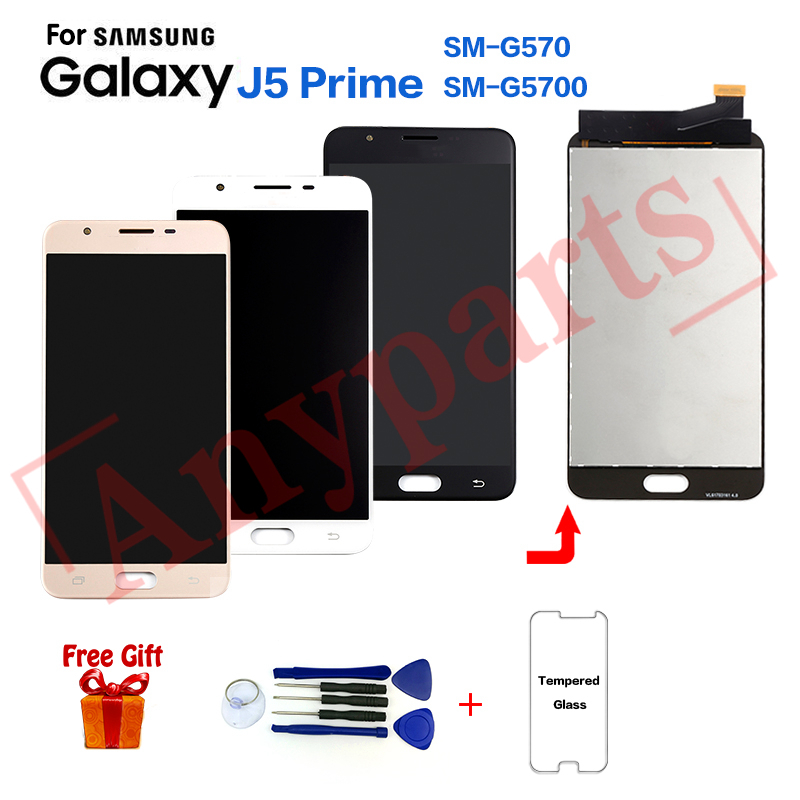 For SAMSUNG J5 Prime G570 SM-G570F Display lcd Screen replacement for Samsung SM-G570Y G570M G5700 lcd display screen moduleFor SAMSUNG J5 Prime G570 SM-G570F Display lcd Screen replacement for Samsung SM-G570Y G570M G5700 lcd display screen module