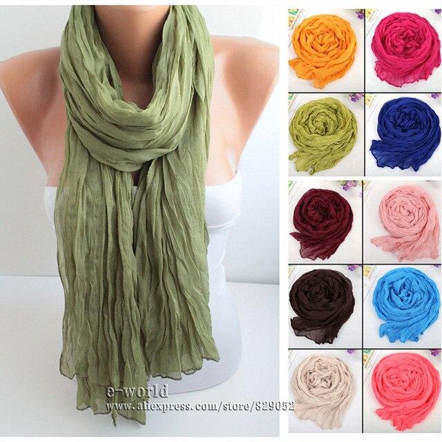 vasta selezione di fb1c2 9a103 US $2.49 |Classico della moda Infinity Sciarpe per Le Donne Dello Scialle  Della Sciarpa Sciarpe Femminili Ordito Pashmina Hijab Bufanda Regali Delle  ...