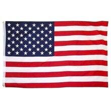Bandera Americana EUA de 90x150cm Bandera Azul de la policía de Estados Unidos bandera de las estrellas y las rayas bandera de Estados Unidos