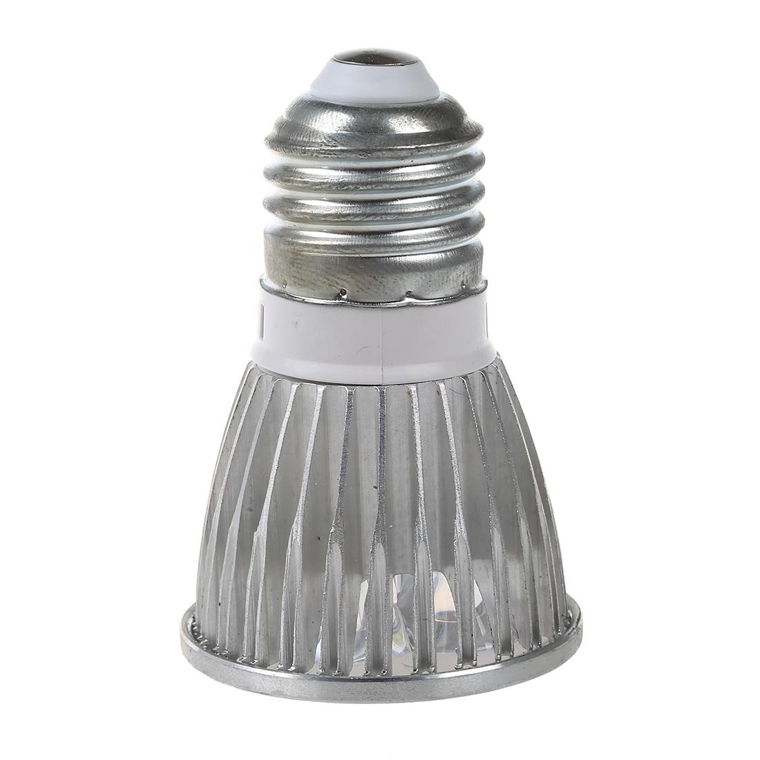 Half Dozen 6pcs E27 4W LED White Spot Down Light Lamp Bulb ship Type:5W-5LED Light Color:Cool White
