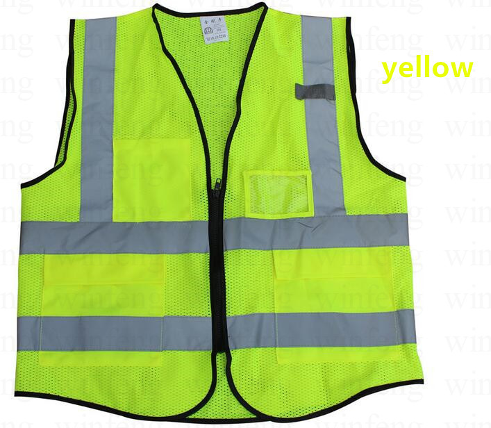High Visibility Reflective Vest Workplace Road Working Clothes Motorcycle Cycling Sports Outdoor Reflective Safety Clothing cycling reflective clothing reflective vest safety clothing to road traffic motocross body armour protection jackets