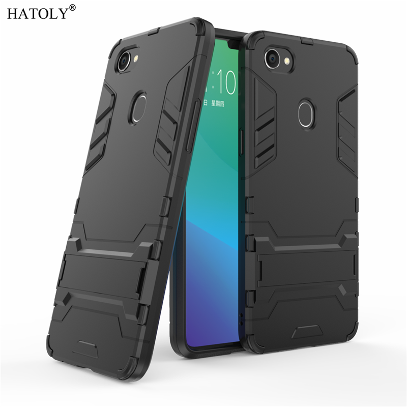 Armor Case OPPO F7 Case OPPO F 7 Shockproof Robot Silicone Rubber Hard Back Phone Cover For OPPO F7 F 7 Fundas 6.23