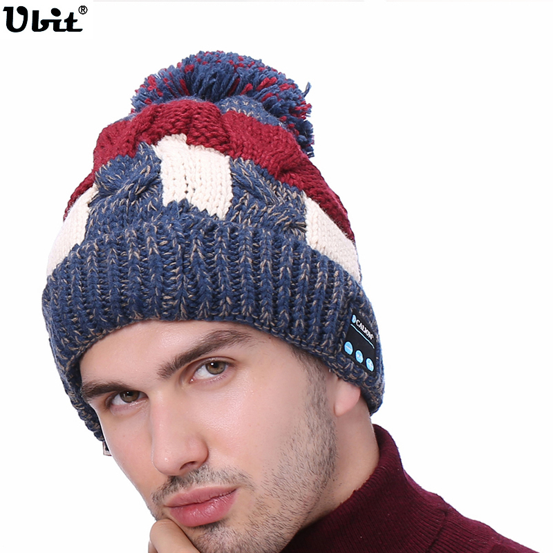 Ubit Bluetooth V4.1 Headphone Smart Music Beanie Wireless Earphones Hat Combined with Removable Headset,Hands Free Talking. 2017 foldable bluetooth headphone m100 headphone for smart phone with fitness monitor music streaming hands free calls