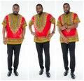 Personalizado Camisas Homem Africano Dashiki Imprimir Tops Vestuário Tradicional Africano Bazin Projeto África Roupas para Homens T Tamanho Da Camisa Mais