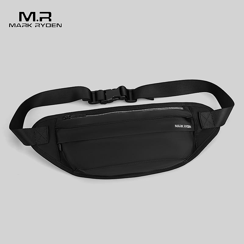 Mark Ryden Men Waist Bag New Men Waist Pack Multi-functional Money Belt Bag