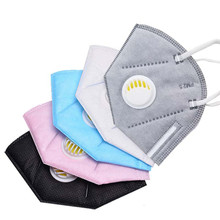 3D Breathing valve Disposable Bacterial Filter Medical Anti-Dust PM2.5 Surgical Face Mouth Mask For Health Care