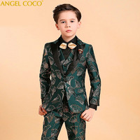 Gentleman Wedding Kids Children's Suit Boys Blazer Suits For Boys Suits For Weddings Boys Clothing Blazer Clothes For Teenagers