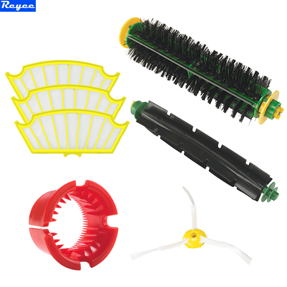 New SideBrush filter For iRobot Roomba 500 All Series 530 540 550 560 570 580 551 561 555 Set in One pack free shipping new 1 x series 5 combi shaver foil 51s for braun replacement pack 8000 360 530 570 560 590 8985 free shipping