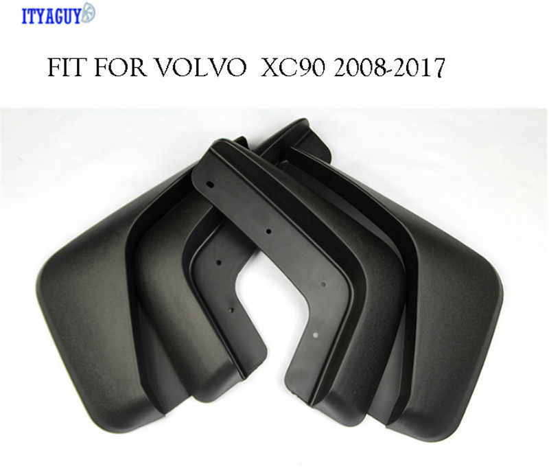 Car accesories Mudguards Fit For VOLVO XC90 2008 2017 Front Rear Fender Mud Flap mudflaps