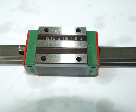 CNC 100% HIWIN HGR45-800MM Rail linear guide from taiwan free shipping to japan cnc hiwin 4 stes egh20ca 1r2380 zoc dd block rail set rail linear guide from taiwan