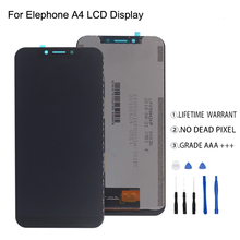 Original For Elephone A4 LCD Display Touch Screen Digitizer Assmbly For Elephone A4 Display Screen LCD Free Tools for elephone p6000 pro lcd display touch screen tools 100