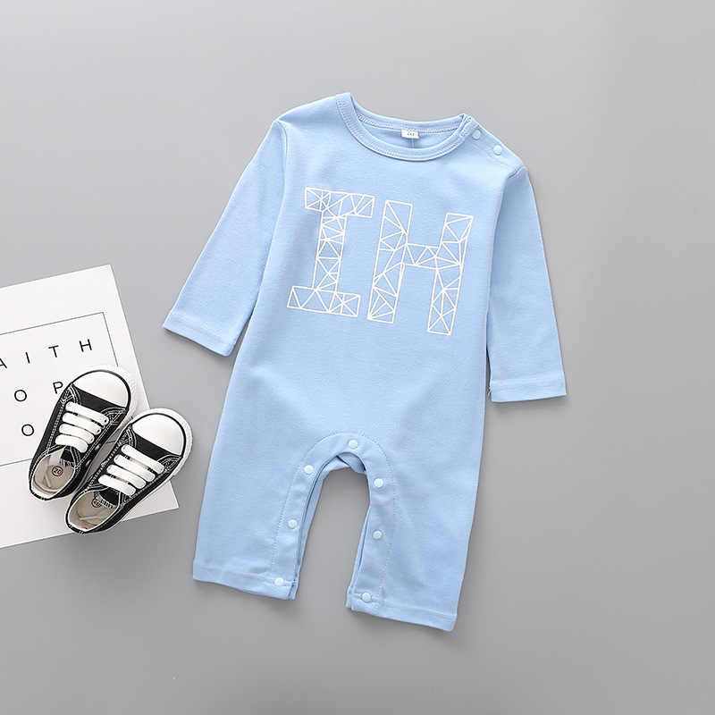 5c965c1f8 2018 Baby Clothing Newborn jumpsuits Baby Boy Girl Romper Clothes Long  Sleeve Infant I love mmmy daddy printing 1 9 12 Months