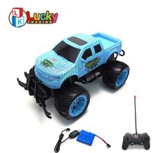 Unique Cool Big Wheels 4 Channels Remote Control Car Buggy Cross Country Vehicle off road rc carrinho de controle remoto