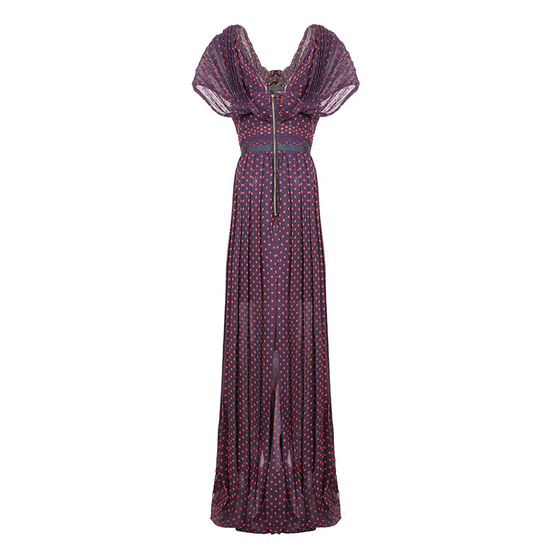 Alta calidad nueva moda 2019 Vestido largo de pasarela de verano para mujer-in Vestidos from Ropa de mujer    3