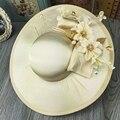Цветочные Свадебные Hat Прекрасный Сад Свадебные Фото Аксессуары Для Волос Невесты Мать Специальный Партии Шляпу