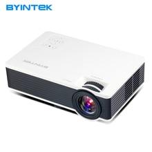 BYINTEK ML217 Nuevo USB Juego de Cine En Casa de 1800 lúmenes LED Pico Mini Proyector de Vídeo Digital HD Projetor Beamer 1080 P