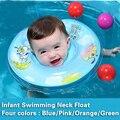Natação do bebê Piscina Pescoço Float Anel Inflável Tubo de Segurança Ajustável Aids