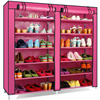 Time Simple Shoe Dust Tight Shoes Cabinet Storage Rack Double Big Capacity 40s The