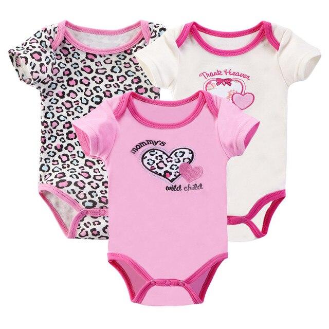 2f8e5e9bbac0e Bébé Fille Garçon Vêtements Pour Nouveau-nés Enfants Ensemble Pour Bébés 3  pcs Lot