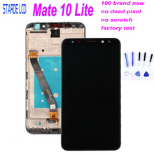 For Huawei Mate 10 Lite LCD Display Touch Screen Digitizer For Huawei Mate 10 Lite Display Mate10 Lite Nova 2i LCD Screen RNE-L2 цена