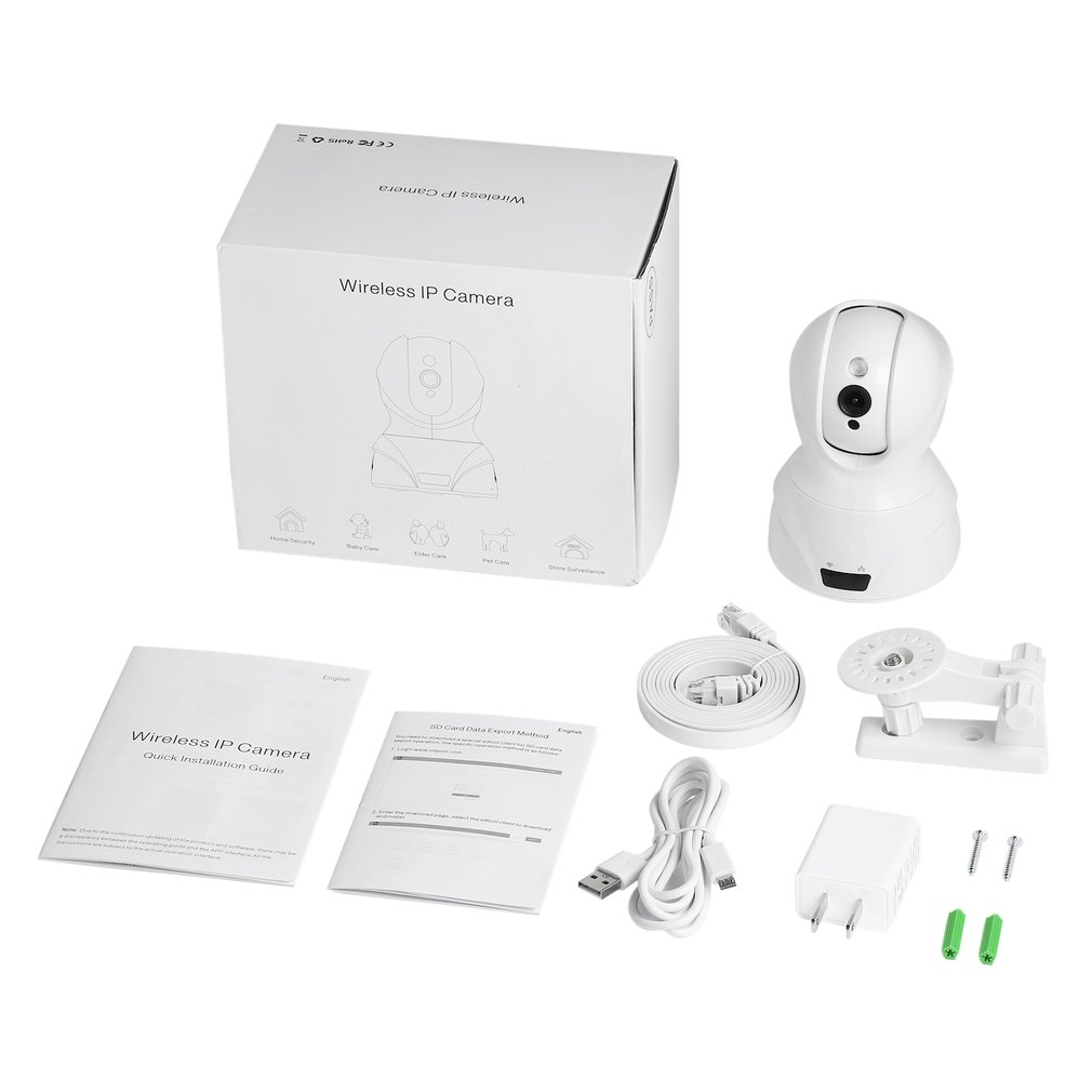 826 Wireless 2.4G WIFI Security Camera Infrared Night Vision IR-CUT Switch Motion Detection H.264 Video Compression