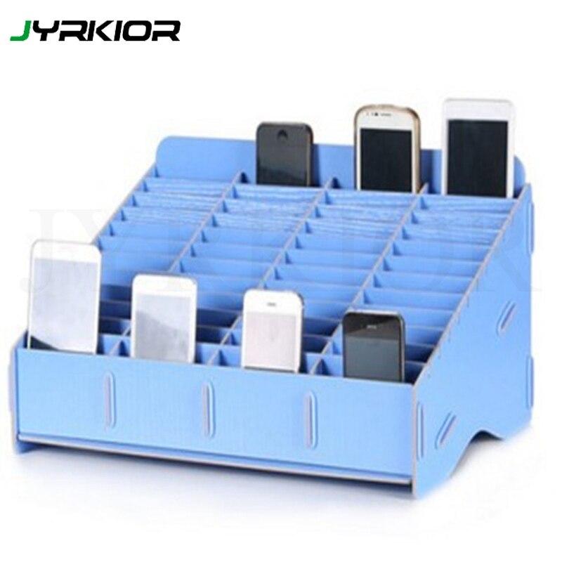 Jyrkior Multifunctional Wooden Storage Box Mobile Phone Repair Tool Box Motherboard Accessories Storage Box