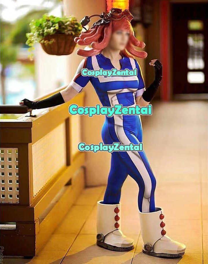 Gym Uniform My Hero Cosplay Costume 3D Print Spandex Zentai bodysuit Cosplay Halloween Costume Lycra Jumpsuit Custom Made