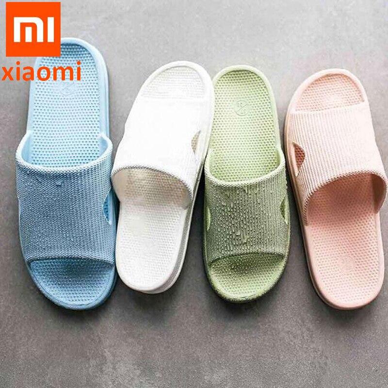 New Xiaomi One cloud waterproof Slippers Summer Women Slippers Soft Flip Flops Ladies Man Sandals Casual Shoes Slip(China)