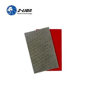 Image 5 - Z LION 2 Blätter Diamant Schleifpapier Galvani Polieren Blatt Abrasive Schleifpapier Grit 60 120 200 400 Ersatz Schleif