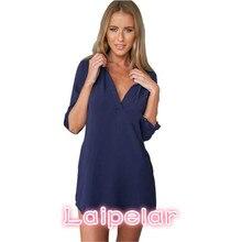 5XL Tunic Shirt Women Blouses Casual Plus Size Long Sleeve V Neck Loose Tops Shirts Fashion Brand vestidos de festa 2018